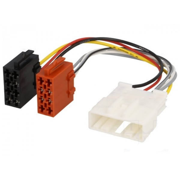 Conector Auto Player 4CarMedia Renault, Smart ISO ZRS-AS-71B